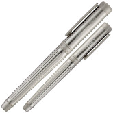Cutter & Buck American Classic Midlands Silver Rollerball Pen-Kappa Alpha Order Flat Engraved