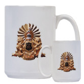 Full Color White Mug 15oz-Coat of Arms Emblem