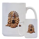 Full Color White Mug 15oz-Coat of Arms Emblem