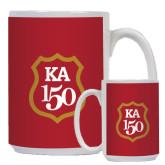 Full Color White Mug 15oz-KA 150 Shield