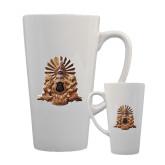 Full Color Latte Mug 17oz-Coat of Arms Emblem