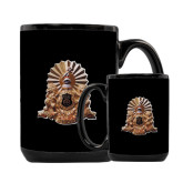 Full Color Black Mug 15oz-Coat of Arms Emblem