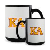 Full Color Black Mug 15oz-Two Color KA