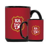 Full Color Black Mug 15oz-KA 150 Shield