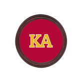 Round Coaster Frame w/Insert-Two Color KA