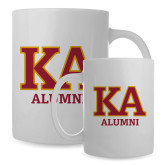 Alumni Full Color White Mug 15oz-KA Alumni