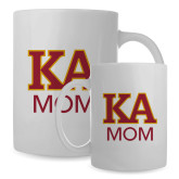 Mom Full Color White Mug 15oz-Two Color KA