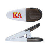 White Crocodile Clip/Magnet-Two Color KA