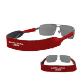 Croakies Cardinal Wide Band Sunglasses Strap-Kappa Alpha Order