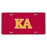 License Plate-Two Color KA