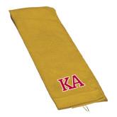 Gold Golf Towel-Two Color KA