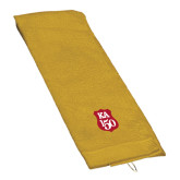 Gold Golf Towel-KA 150 Shield