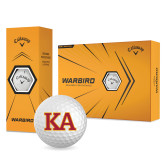 Callaway Warbird Golf Balls 12/pkg-Two Color KA