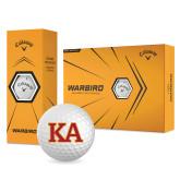 Callaway Warbird Golf Balls 12/pkg-Two Color KA