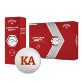 Callaway Chrome Soft Golf Balls 12/pkg-Two Color KA