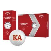 Callaway Chrome Soft Golf Balls 12/pkg-Two Color KA