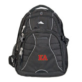 High Sierra Swerve Black Compu Backpack-Two Color KA