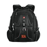 Wenger Swiss Army Mega Black Compu Backpack-Two Color KA