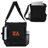 Impact Vertical Black Computer Messenger Bag-Two Color KA