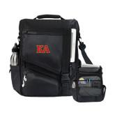 Momentum Black Computer Messenger Bag-Two Color KA