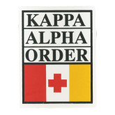 KA Flag Auto Decal-