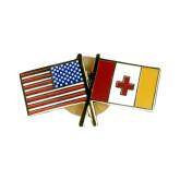 KA/American Flag pin-