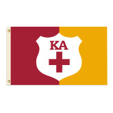 Supplemental Flag, Stitched with grommets-