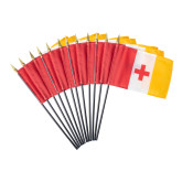 Miniature KA Flags 12 Pkg-