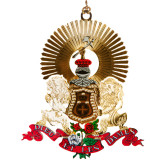 Special Edition 3D Coat of Arms Christmas Ornament-