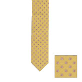 Gold Neck Tie-Shield