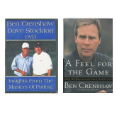 Feel for the Game Book and Putting Masters DVD Combo-