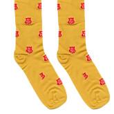 Yellow Socks 'KA 150 Shield'-