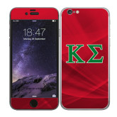 iPhone 6 Skin-Kappa Sigma - Greek Letters - 2 Color