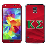 Galaxy S5 Skin-Kappa Sigma - Greek Letters - 2 Color