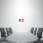 1 ft x 2 ft Fan WallSkinz-Kappa Sigma - Greek Letters - 2 Color