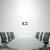 1 ft x 2 ft Fan WallSkinz-Kappa Sigma - Greek Letters - 2 Color