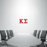2 ft x 4 ft Fan WallSkinz-Kappa Sigma - Greek Letters - 2 Color