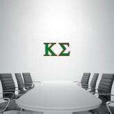 1.5 ft x 3 ft Fan WallSkinz-Kappa Sigma - Greek Letters - 2 Color