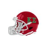 Riddell Replica Red Mini Helmet-Kappa Sigma - Greek Letters - 2 Color
