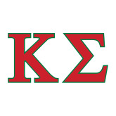 Medium Decal-Kappa Sigma - Greek Letters - 2 Color