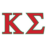 Large Decal-Kappa Sigma - Greek Letters - 2 Color