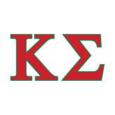 Small Decal-Kappa Sigma - Greek Letters - 2 Color