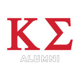 Alumni Decal-Kappa Sigma - Greek Letters