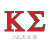 Alumni Decal-Kappa Sigma - Greek Letters - 2 Color
