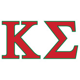 Extra Large Decal-Kappa Sigma - Greek Letters - 2 Color