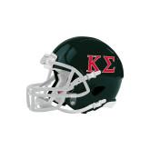 Riddell Replica Dark Green Mini Helmet-Kappa Sigma - Greek Letters - 2 Color