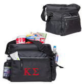 All Sport Black Cooler-Kappa Sigma - Greek Letters - 2 Color