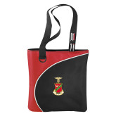 Lunar Red Convention Tote-Crest