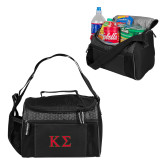 Edge Black Cooler-Kappa Sigma - Greek Letters - 2 Color