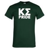 Dark Green T Shirt-Kappa Sigma Pride